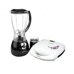 Crownstar 2 In 1 Blender And 2Face Sandwich Maker