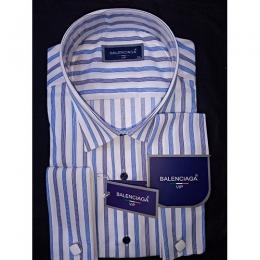 BALENCIAGA LUXURY VIP STRIPED MEN'S SHIRT|(AVAILABLE IN ALL SIZES)