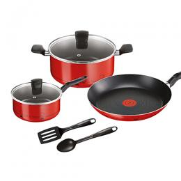 Tefal 7pc Chef De France Non-Stick Pots Set