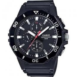 CASIO MRW400H-1AV MEN'S MULTIFUNCTION BLACK RESIN BAND SPORTS XL WATCH