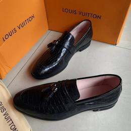 LOUIS VUITTON DESIGNER HIGH STYLED MEN'S SHOE|126