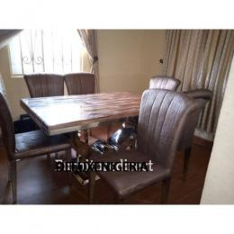 Marble Lectle Dining Set Furniture