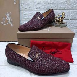CHRISTAIN LOUBOUTIN HIGH QUALITY LUXURY MEN'S SHOE (AVAILAIBLE IN ALL SIZES) 317
