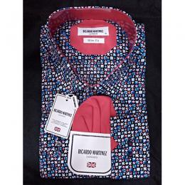 RICARDO MARTINEZ SYLISH MULTI COLOUR MEN'S SHIRT