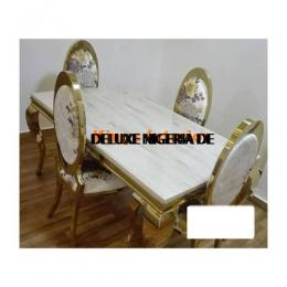 Classic Marble Dinning With 6 Chairs (1)
