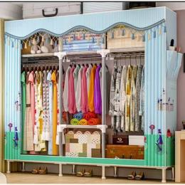 Multicompartment Mobile Steel Wardrobe - Super Strong