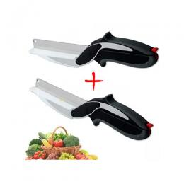 Clever Cutter 2 In 1 New Food Chopper Clever Cutter - 2pcs