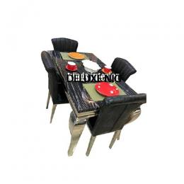 Exclusive Marble Dinning With 6 Chairs (II)
