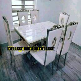 Classic Marble Dinning With 6 Chairs (III)