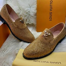 LOUIS VUITTON LUXURY MEN'S SHOE (AVAILABLE IN ALL SIZES) 162