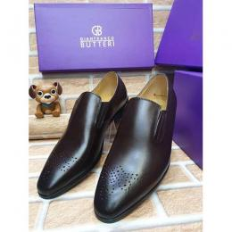GIANFRANCO BUTTERI HIGH QUALITY LUXURY MEN'S SHOE (AVAILAIBLE IN ALL SIZES) 361