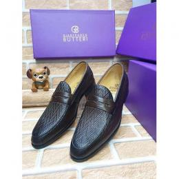 GIANFRANCO BUTTERI HIGH QUALITY LUXURY MEN'S SHOE (AVAILAIBLE IN ALL SIZES) 362