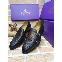 GIANFRANCO BUTTERI HIGH QUALITY LUXURY MEN'S SHOE (AVAILAIBLE IN ALL SIZES) 363