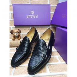GIANFRANCO BUTTERI HIGH QUALITY LUXURY MEN'S SHOE (AVAILAIBLE IN ALL SIZES) 364