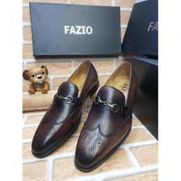 FAZIO HIGH QUALITY LUXURY MEN'S SHOE (AVAILAIBLE IN ALL SIZES) 371