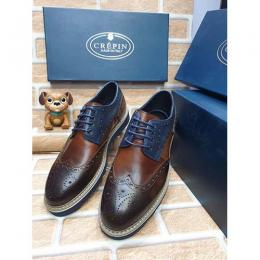 CREPIN HIGH QUALITY LUXURY MEN'S SHOE (AVAILAIBLE IN ALL SIZES) 374