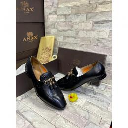 ANAX FORMAL MEN' SHOE WITH FLAP (AVAILABLE IN ALL SIZES) 168