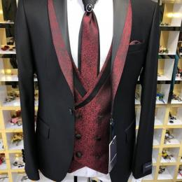 BLACK FASHIONABLE MEN'S SUIT |SUT 006 (AVAILABLE IN ALL SIZES)