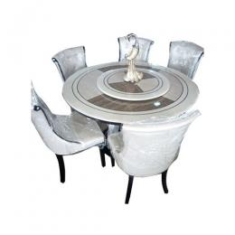 Blekn Furnitures 6 Seater Marble Top Dining