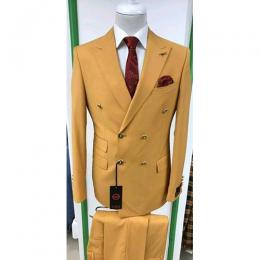 CLASSY 3 PIECE MEN'S SUIT|BROWN (AVAILABLE IN ALL SIZES) 030