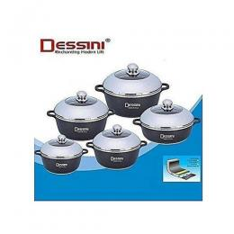 Dessini 10pcs Die Cast Pot Set
