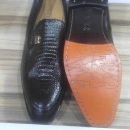 JOHN FOSTER CLASSIC PATTERNED MEN'S SHOE|018|(AVAILABLE IN ALL SIZES) - deluxe.com.ng