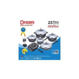 DESSINI 23PCS DIE-COAT POT