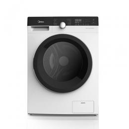 MIDEA - MFK100 Automatic Washing Machine Front Load, 10 kg, 75% Dry, 14 Program, Chinese Industry, White