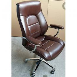 DELUXE EXECUTIVE OFFICE CHAIR|BROWN
