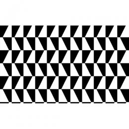 PHOENIX 76115 – 1 BLACK WHITE CHECKERED WALLPAPER