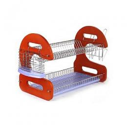 "Eurosonic 2 Layer 22"" Dish Drainer Rack"