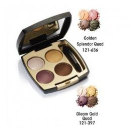 Avon 24K Gold Eye Shadow Quad - Golden Splendor