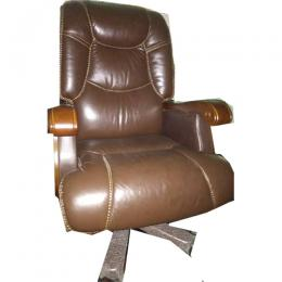 DELUXE EXECITIVE OFFICE CHAIR|LEATHER DEL 209
