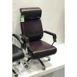 DELUXE EXECITIVE OFFICE CHAIR|LEATHER DEL 210