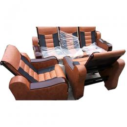 DELUXE EXECUTIVE 1 MAN SEATER SET AND 3 MAN SEATER