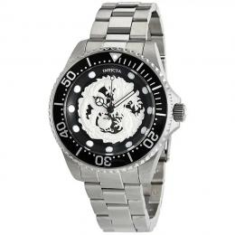 INVICTA 26489 MEN'S PRO DIVER AUTOMATIC DRAGON BLACK DIAL WATCH
