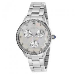 INVICTA 29090 WOMEN'S ANGEL QUARTZ 3 HAND WHITE DIAL WATCH