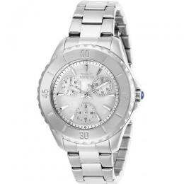 INVICTA 29106 WOMEN'S ANGEL QUARTZ 3 HAND WHITE DIAL WATCH