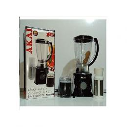 AKAI Blender With Mill And Filter Attachments (Heavy Duty Motor)