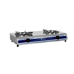 TEC CKR TABLE TOP COOKERS GAS 2HOB STAINLESS