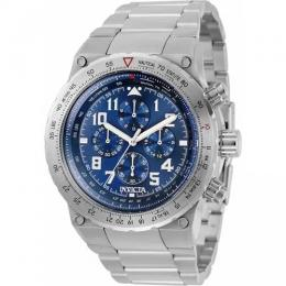 INVICTA 31586 MEN'S AVIATOR STAINLESS STEEL BLUE DIAL WATCH