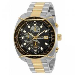 INVICTA MEN'S 31842 ARMY CHRONO GREY, CAMOUFLAGE DIAL TWO-TONE WATCH