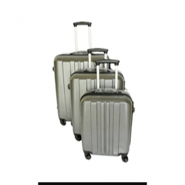 LUXURY 3 PIECE SET TRAVELLING SUITCASE