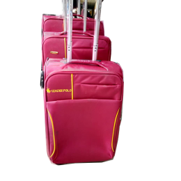 ELEGANT 3 PIECE SET TRAVELLING LUGGAGE|RED