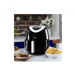 Silver Crest Digital Air Fryer With Extender Ring - Black|15h Watts|4.3L
