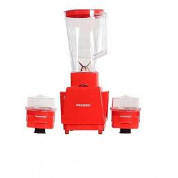 Eurosonic 3 In 1 Blender With 2 Mills- Red