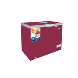 NEXUS 400E SKD CHEST FREEZER WINE RED