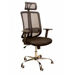 DELUXE EXECUTIVE CHAIR WITH MESH AND HEAD REST