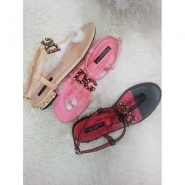 D&G DESIGNER LADIES SANDAL(AVAILABLE IN ALL SIZES)