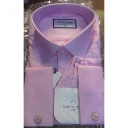 ALBERTO ROMA LUXURY PLAIN PINK LIKE VIP SHIRT